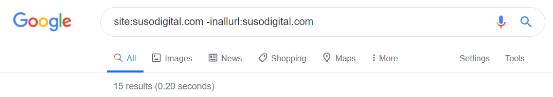 Google site: and inallurl: operators