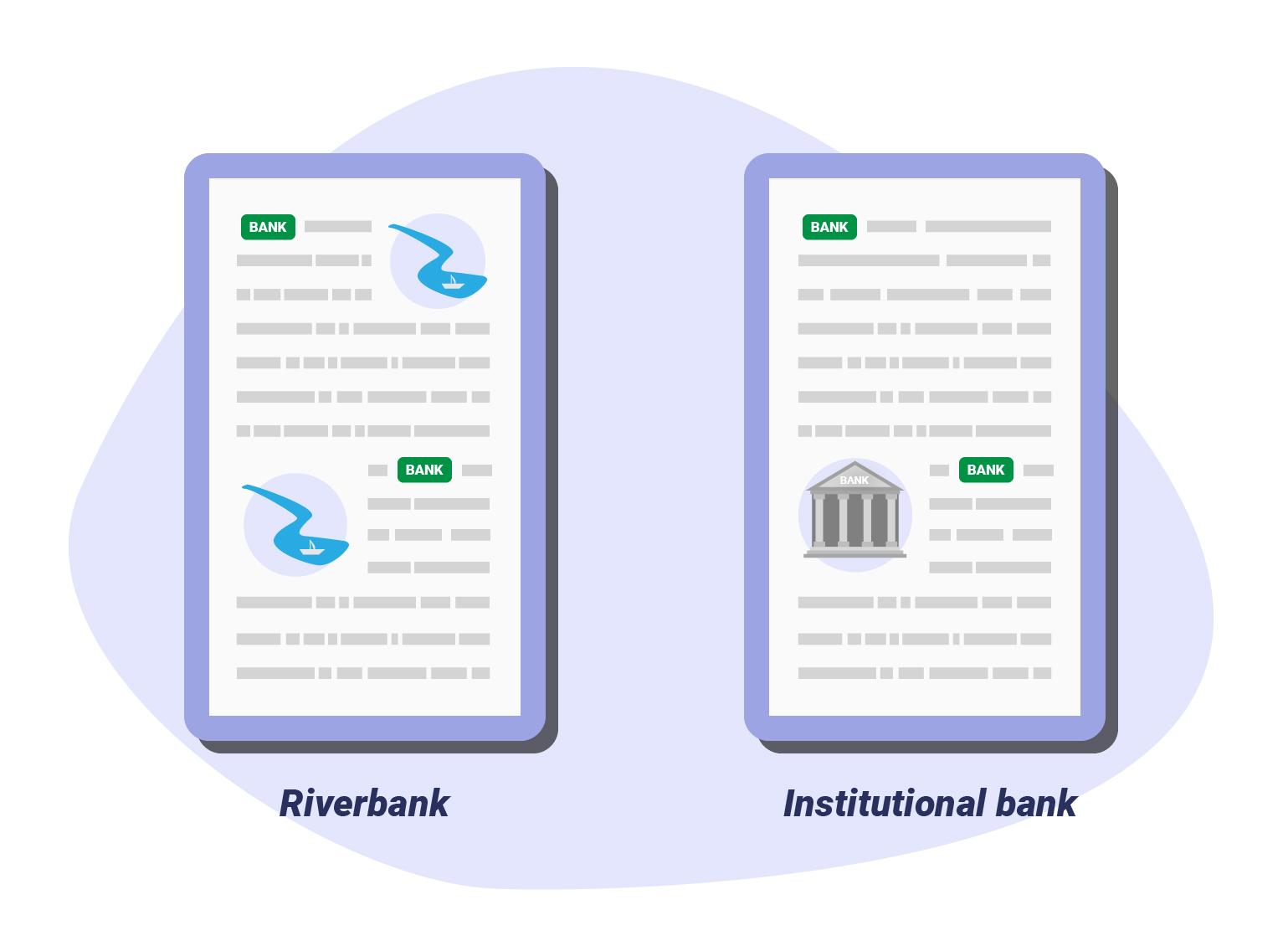 bank vs riverbank vs intitutional bank - polysemic keywords
